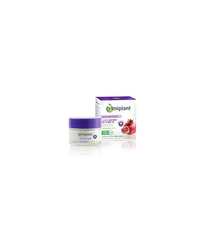 Crema Antirid de Zi Elmiplant Skin Defence 35+ Pentru Ten Normal / Mixt