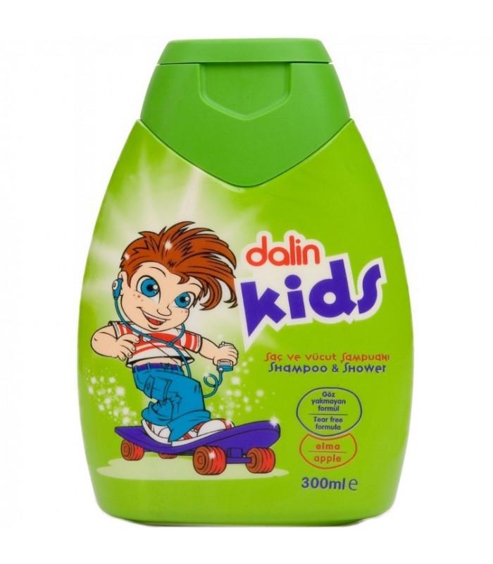 Dalin Kids Sampon cu Caise