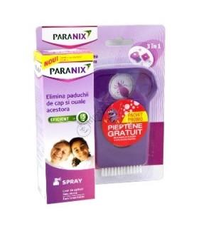 Paranix Spray Paduchi + Pieptene Gratuit